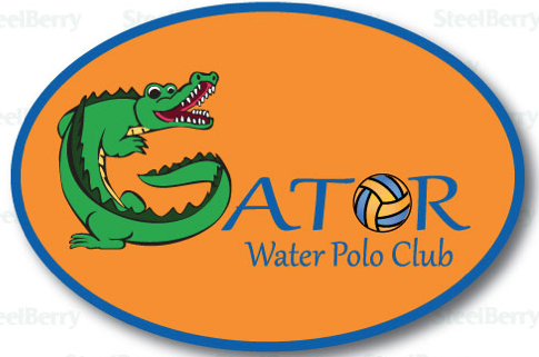 Gator Water Polo Magnets